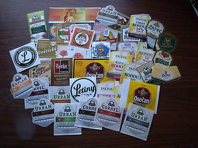 Lot of 100s Czech Beer Labels New Various Brands