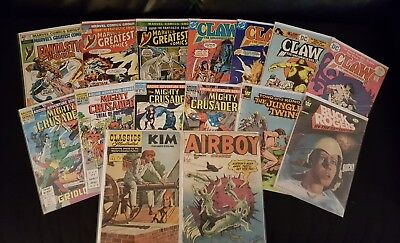 Huge Lot 80 (Marvel/ Dc/ Indy) Golden Silver Bronze Copper Modern Age (Grab Bag