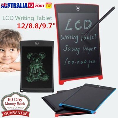 8.5/12''LCD Writing Tablet Pad for Boogie Board Jot Style eWriter Boards LOT AU