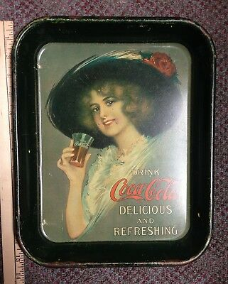 Vintage Drink Coca-Cola Trays Each Sold Separately
