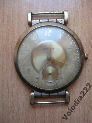 Rare Vintage Collectible Antique Watch Marvin Old