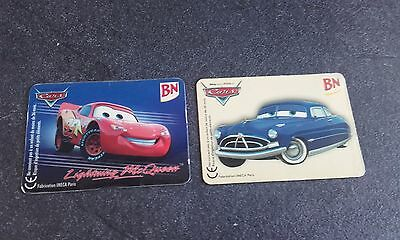 "Lot De 2 Magnets Bn "" Cars """