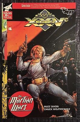 Buck Rogers In The 25th Century. Martian Wars Comic. TSR. Number 1