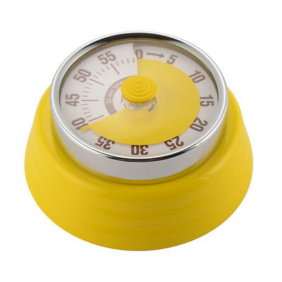 60 Minute Counting Kitchen Timer Mechanical Cooking Alarm Clock Reminder HS1130