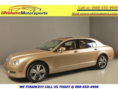 2008 Bentley Continental Flying Spur 2008 FLYING SPUR AWD W12 NAV SUNROOF WOOD HEATED 2008 BENTLEY CONTINENTAL FLYING SPUR AWD NAV SUNROOF LEATHER HEAT/COOL SEATS
