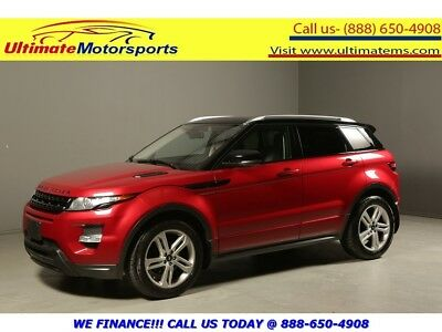 2012 Land Rover Evoque 2012 DYNAMIC AWD NAV PANO LEATHER HEATSEAT 2012 LAND ROVER RANGE ROVER EVOQUE DYNAMIC AWD NAV PANO LEATHER HEATSEAT RED
