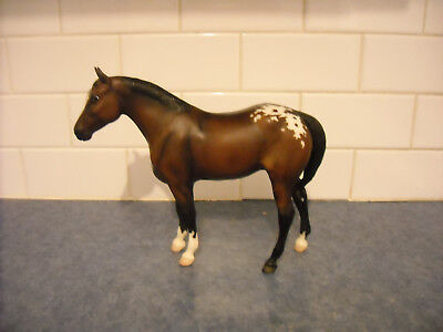 Breyer Tahoma Lacy Snowflake Blanket Dark Bay Appaloosa Quarter Horse Yearling
