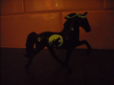 Breyer Tennessee Walker Custom Halloween Fantasy Decorator Stablemate  Glow Wolf