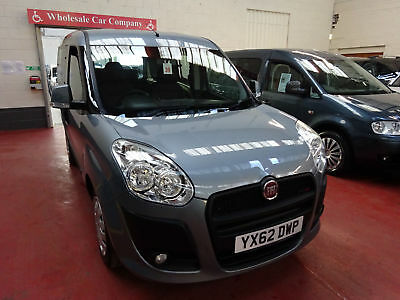 62 Fiat Doblo       Wheelchair Adapted Disabled Vehicle