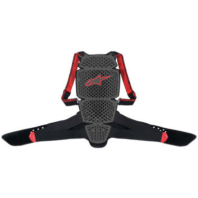 Alpinestars Nucleon KR-Cell Back Protector Black/Red - Pick Size