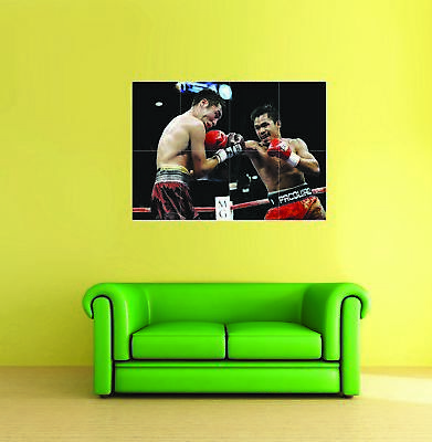 Manny Pacquiao Boxing Giant 1 Piece  Wall Art Poster SP157