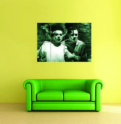 Frankenstein 1931 Classic Cult Movie Film Giant Wall Poster Print