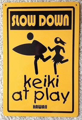 Keiki At Play Caution Mini Warning Decorative Sign Watch for Children sign