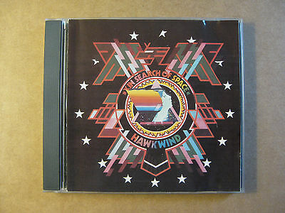 HAWKWIND - In Search Of Space  (1991 One Way Records ) RARE