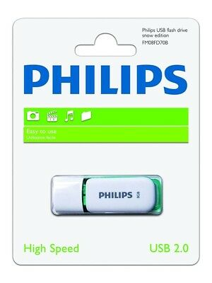 Cle Usb Philips Snow Edition 4 Go 8 Go 16 Go 32 Go 64 Go Usb 2.0 - Neuf Blister