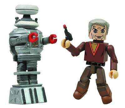 Diamond Select Lost In Space Dr Smith & B9 Minimates 2-Pk  New!