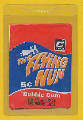 The Flying Nun Wrapper 1968 Donruss Sally Field Tv Forrest Gump Spider-Man More