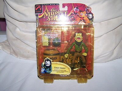 """The Muppet Show """"Crazy Harry"""" Palisades Toy`s NEU & OVP / Series Two"""