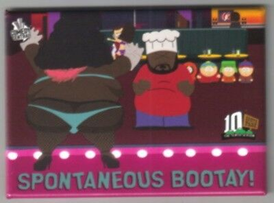 South Park Chef Saying Spontaneous Bootay! Magnet NEW UNUSED