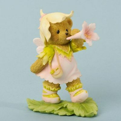 Enesco Cherished Teddies 4035932 Fern Have A Magical Day Fairy With Flower NIB