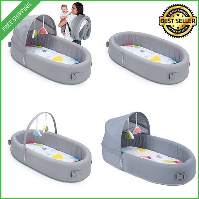 Lulyboo Bassinet To Go Metro