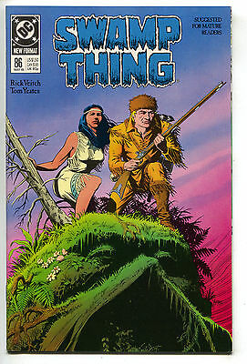 Swamp Thing 86 DC 1989 NM Rick Veitch Enemy Ace