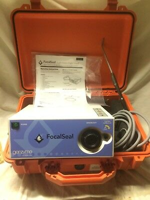 GENZYME LS1000 / LS 1000 FOCALSEAL XENON LIGHT SOURCE With light Wand