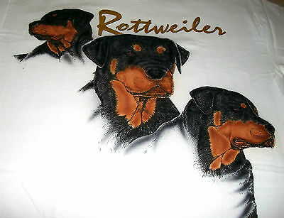 "Rottweiler T-shirt  "" Natural ""  Medium ( 38 ~ 40 )"