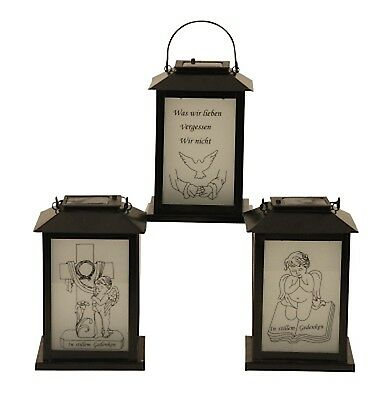Solar Led Garden Grave Decorations Metal Lantern Angel With Book