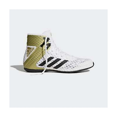 Adidas Speedex 16.1 Boxing Boots Mens Adults Shoes Trainers - White Gold