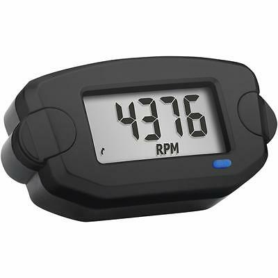Trail Tech Tto Tach Tachometer Hour Meter Black Mx Atv Utv Enduro 742-A00