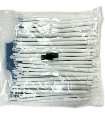 100 (1 Bag) Saliva Ejectors Green Mint Dental Disposable Made in Italy