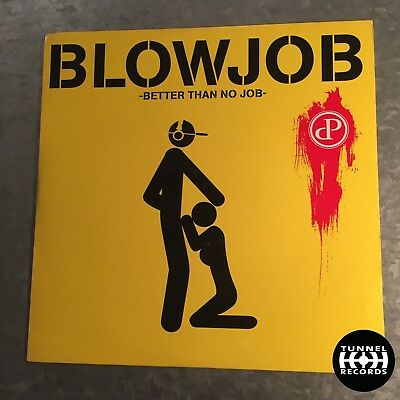 "12"" Tunnel Kult Vinyl - Patrick Bunton - Blowjob / Better Than No Job - TR3137"