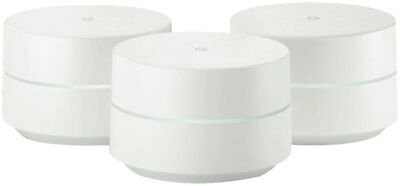 New Google - GA00158 - Google WiFi System -3-Pack