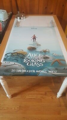 ALICE THROUGH THE LOOKING GLASS MOVIE POSTER 2 Sided ORIGINAL 27x40 MAD HATTER