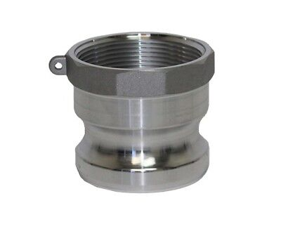 Aluminum Camlock Fittings - Type A - 4 Inch Adapter
