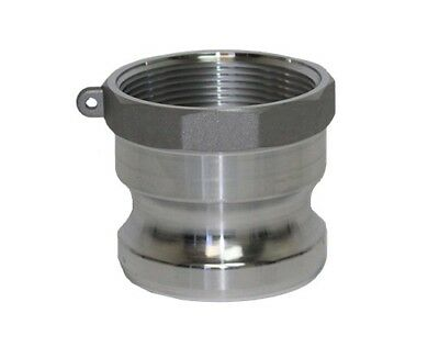 Aluminum Camlock Fittings - Type A - 3 Inch Adapter
