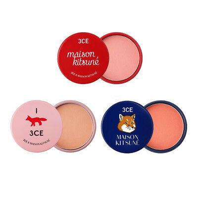 3CE Maison Kitsune Soft Cheek 9g, Korea Cosmetic Face Makeup