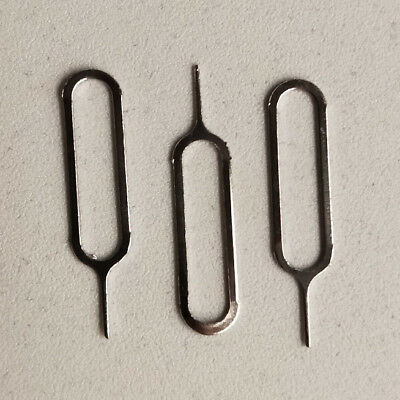 3 x Sim Card Tray Ejector / Opener / Remover Tool - Stainless Steel - AU Stock