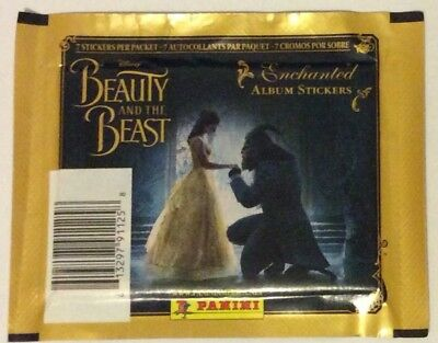 Beauty And The Beast Enchanted Album Stickers - 7 Sticker Packet - Disney