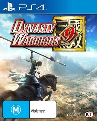 Dynasty Warriors 9 PS4 Game Brand New In STock From Brisbane