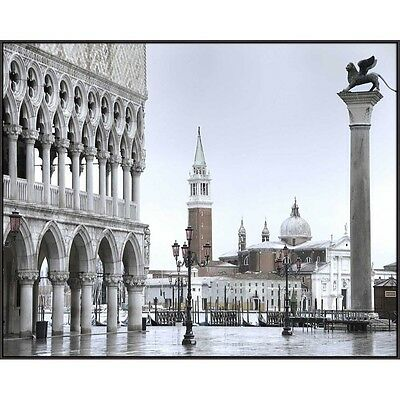 View from San Marco- Framed Printed Canvas