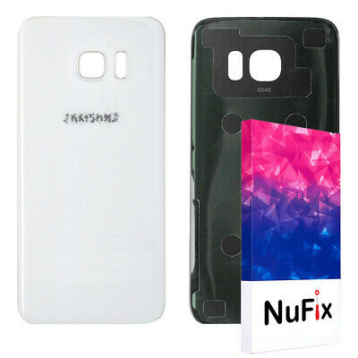 Samsung Galaxy S7 Rear Back Glass Battery Panel replacement Adhesive white G930
