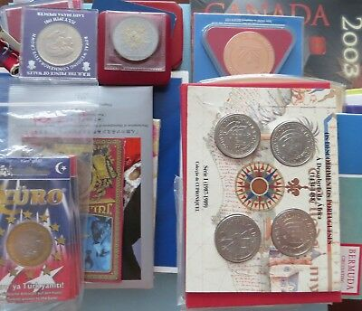 World Mixed Coins (1969 - 1982) - Silver/other Commemorative -Uncirculated/proof
