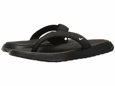 25e48ed04d6963 Nike Men s 882691 002 Ultra Celso Thong Men s Black white flip flop sandals  nwt