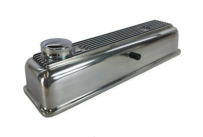 New Alloy Valve Cover Triumph TR3 TR3A TR3B TR4 TR4A  Polished & Vented