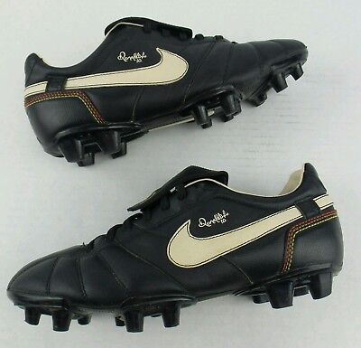 Vintage 2007 Nike Tiempo R10 Ronaldinho Soccer Cleats Size Mens 7.5