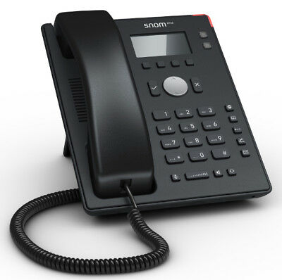 Snom D120 Entry IP Phone, Poe, Hac, IPv6, IPV4