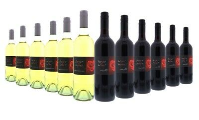 Valentine's Day Heart To Heart White & Red Wine Mixed-12x750ml RRP$189 Free Ship