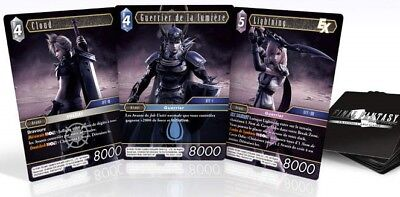 Carte Promo Dissidia Final Fantasy Trading Card Cloud Lightning Guerrier  !